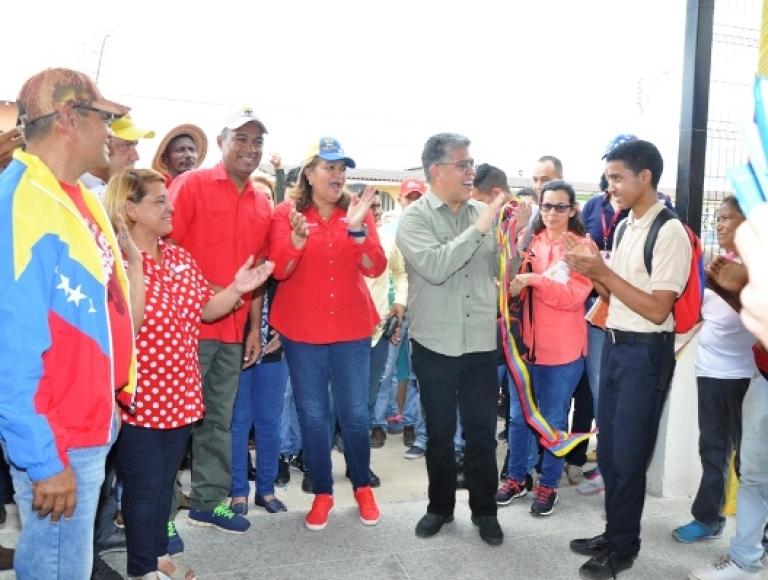 Gobierno Bolivariano inauguró Liceo Nacional Gigante de América Hugo Chávez en Monagas