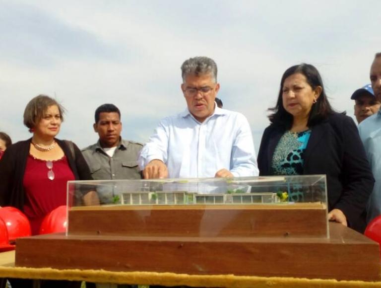"""Gobierno Bolivariano inspeccionó espacios para la construcción de la """"Ciudad Educativa del Norte"""" en Lara"""