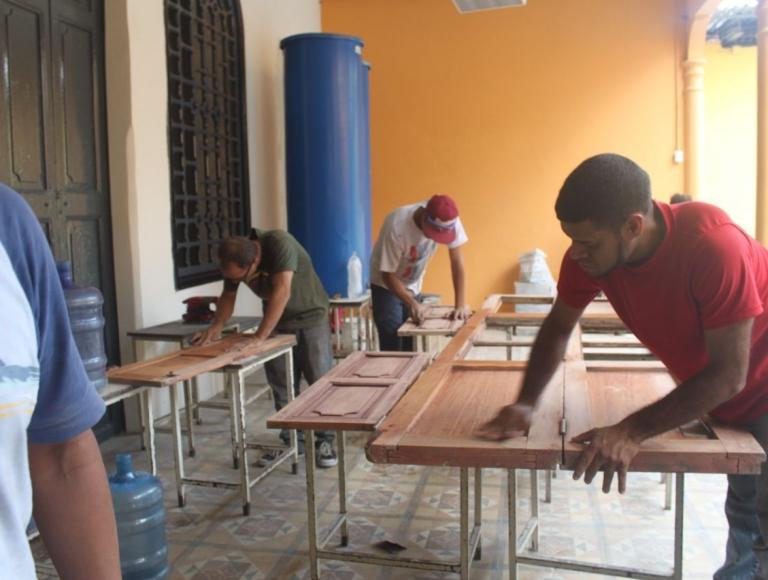 Escuelas de la parroquia La Pastora listas para iniciar clases este 16 de septiembre